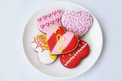 печенья 3 шоколада Стоковое Фото