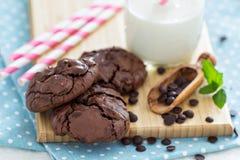 Печенья шоколада i шар Стоковые Фото