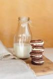 Печенья шоколада Oreo Стоковое Изображение