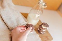 Печенья шоколада Oreo Стоковое фото RF