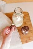Печенья шоколада Oreo Стоковое Изображение RF