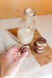 Печенья шоколада Oreo Стоковые Фотографии RF