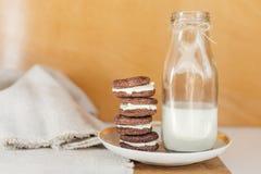 Печенья шоколада Oreo Стоковая Фотография