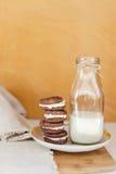 Печенья шоколада Oreo Стоковые Фото