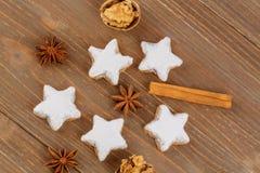 Печенья для рождества Стоковые Изображения