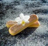 Печенья для тирамису Стоковая Фотография