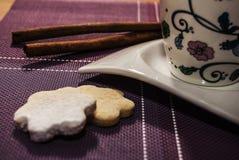 2 печенья Стоковое Фото