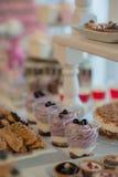 Печенья ans торта Стоковое Изображение