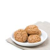 Печенья Biscotti в изолированном шаре, Стоковая Фотография