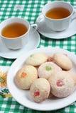 Печенья Candied плодоовощ Стоковое Изображение
