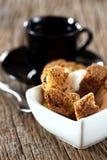 Печенья Cantuccini в шаре Стоковые Изображения
