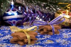 Печенья gingerbread рождества Стоковые Изображения