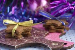 Печенья gingerbread рождества Стоковое фото RF