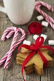 Печенья Gingerbread Стоковое Фото