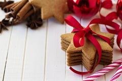 Печенья Gingerbread Стоковые Изображения RF