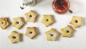 Печенья Linzer Стоковое Фото