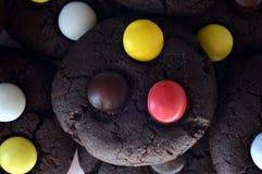 Печенья M&m Стоковая Фотография RF