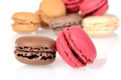 Печенья macaroons макроса Стоковое Изображение