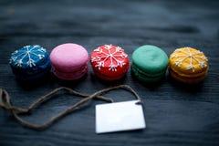 Печенья Macaroons Стоковое Изображение