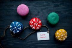 Печенья Macaroons Стоковая Фотография RF