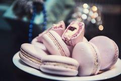 Печенья macaroons Xmas Стоковое Изображение RF