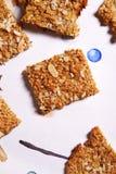 Печенья Oatflakes Стоковые Фото
