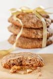 Печенья Oatmeal стоковые изображения rf