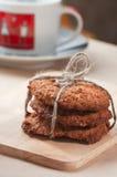 Печенья Oatmeal стоковая фотография