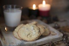 печенья santa стоковая фотография rf