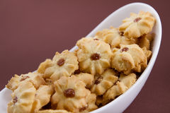 Печенья Shortbread в шаре Стоковая Фотография RF