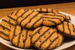 Печенья Shortbread нашивки Стоковое Изображение RF
