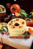 Печенья Shortbread сформированные как кольца Стоковые Фотографии RF