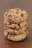 Печенья Shortbread с обломоками шоколада Стоковые Фотографии RF