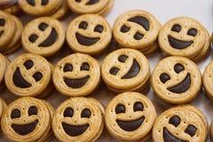 Печенья Smiley Стоковое Изображение