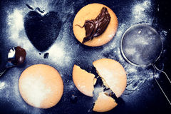 Печенья Tasy Стоковые Изображения