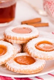Печенья Teatime Стоковая Фотография