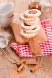 Печенья Teatime Стоковые Изображения
