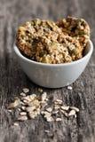 Печенья Wholemeal в шаре Стоковое Фото