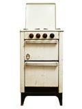 печка газа старая стоковые фото