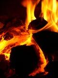 печка зарева Стоковые Изображения