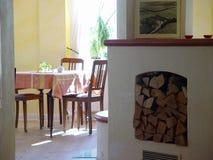 печка комнаты Стоковые Фото