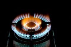 печка кухни газа стоковое изображение rf