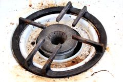 печка кухни старая Стоковая Фотография RF