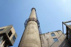 Печная труба в фабрике Стоковое Фото