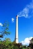 Печная труба и дым Стоковые Изображения RF