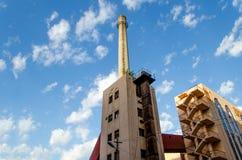 печная труба промышленная Стоковое Фото