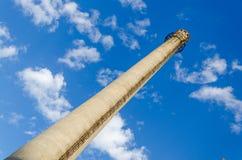 печная труба промышленная Стоковое Изображение