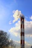 Печные трубы фабрики Стоковая Фотография