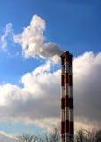 Печные трубы фабрики Стоковое Фото