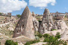 печные трубы cappadocia fairy Стоковые Фотографии RF